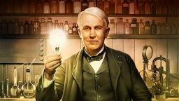 Amerykański wynalazca Thomas Edison