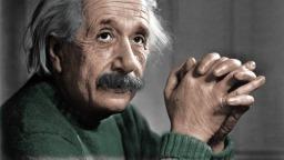 Fizyk Albert Einstein